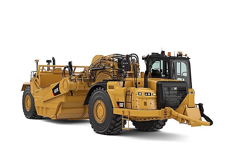 Caterpillar Inc. - 637K Scrapers
