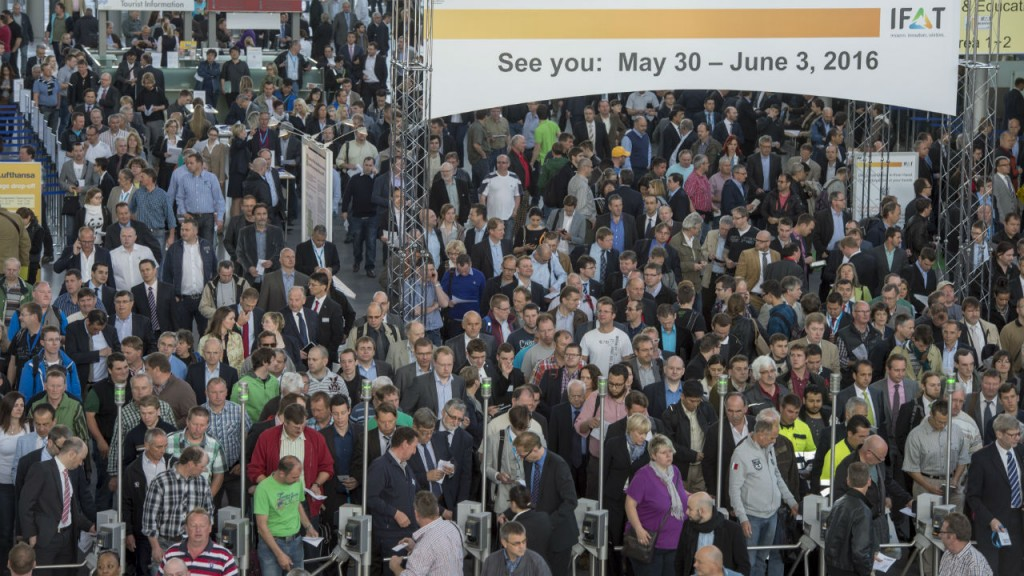 IFAT is the world's leading trade event for environmental technology. A total of 3,081 exhibitors from 59 countries, and 135,288 visitors from 168 countries took part in the last event.