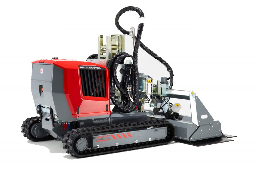 Aquajet Systems - Aqua Cutter 710V Hydro Demolition Robots