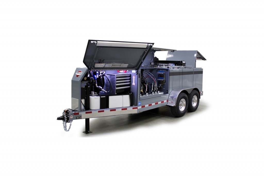 Thunder Creek Equipment - Service and Lube Trailer (SLT) Lube Trailers
