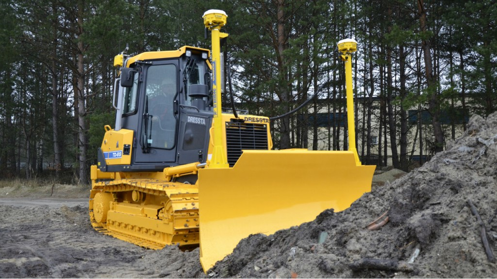 The S-Series dozers are available with integrated technology options of Trimble Ready, and full Trimble 3D control systems.