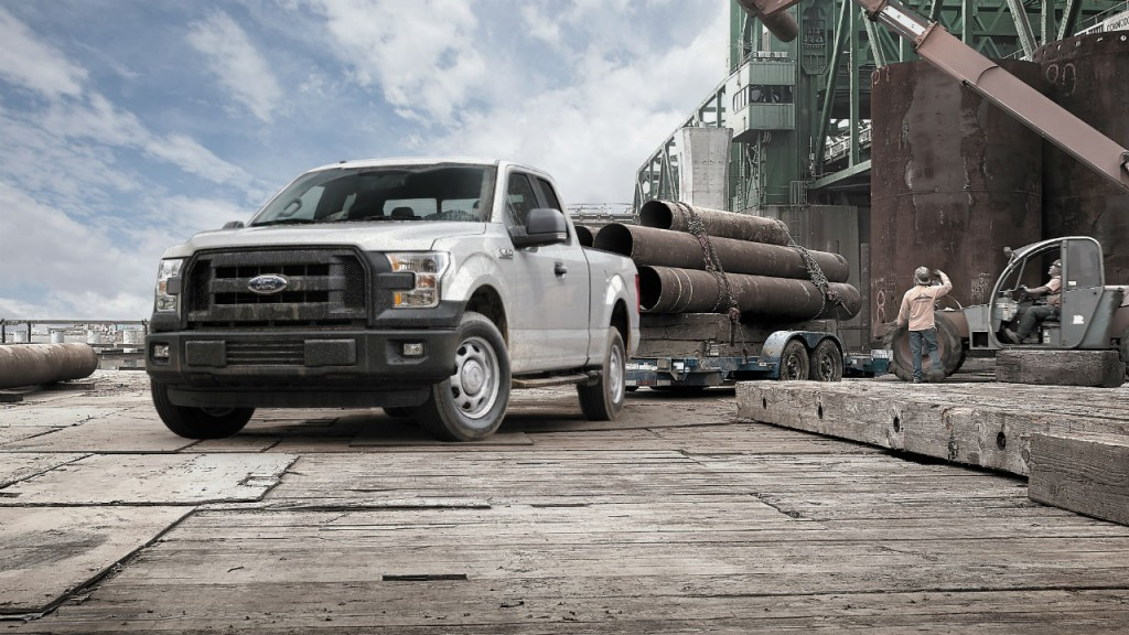 The F-150 is the only full-size, light-duty truck to earn National Highway Traffic Safety Administration's highest rating.