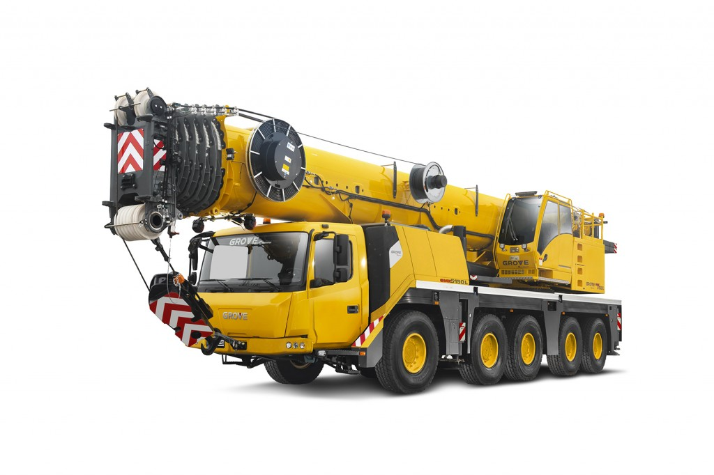 Manitowoc Company, Inc - GMK5150L Mobile Cranes