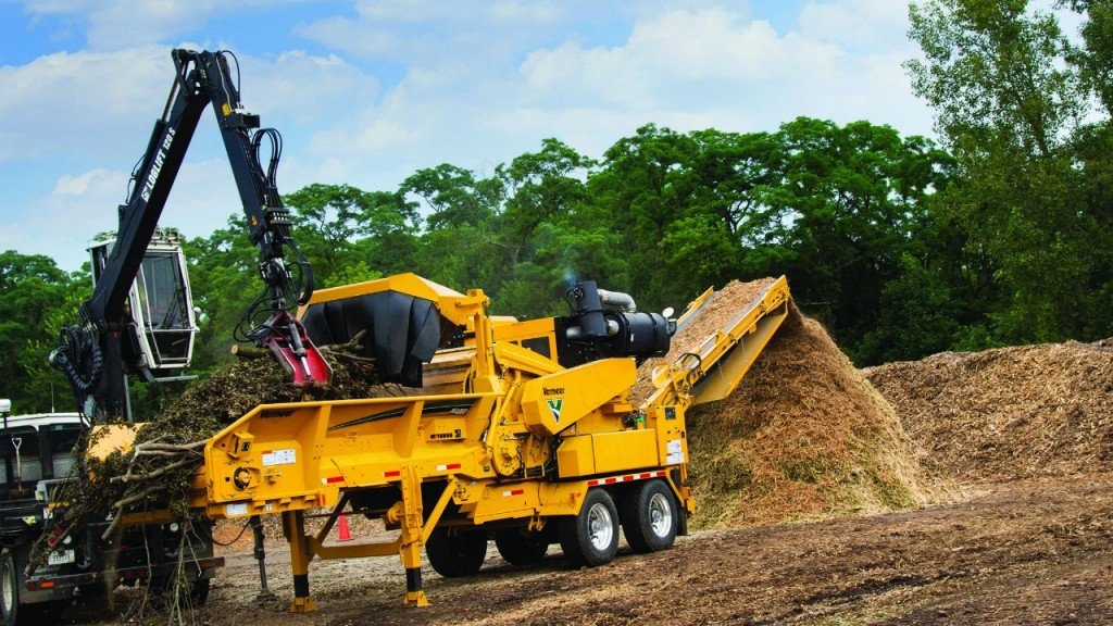 The HG4000 horizontal grinder reduce sound levels, perfect for noise regulations in Europe.