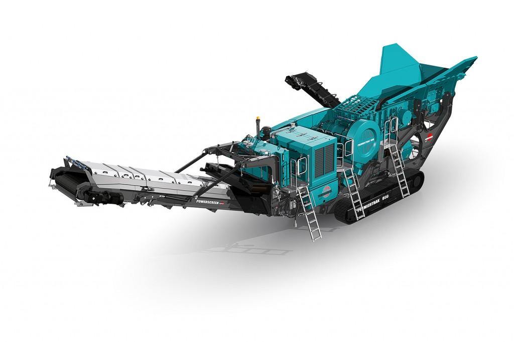 Powerscreen Canada - PREMIERTRAK 600 Track Mounted Jaw Crushers