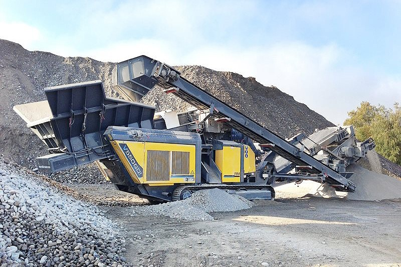 Rubble Master - RM V550GO! Track Mounted Jaw Crushers