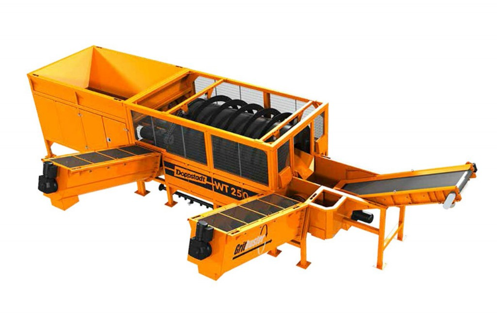 Doppstadt America LP. - Gritbuster WT-250 Mobile Screens