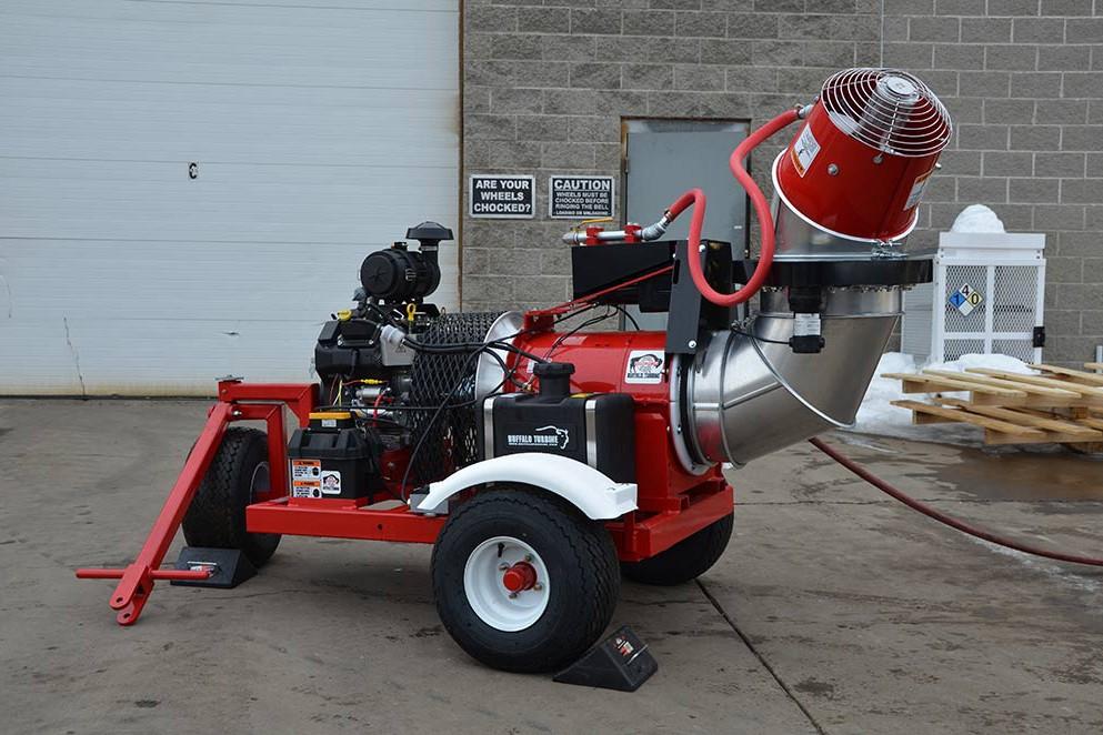 Buffalo Turbine LLC - Monsoon Dust Controller - Gasoline Dust Supression