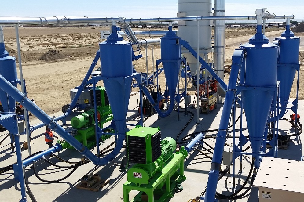 Recycling Equipment Canada - DrycloneTM Air Drying Systems