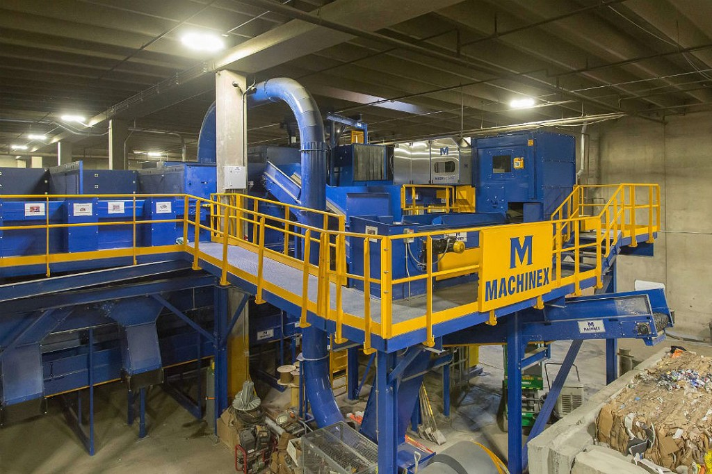 Machinex - MACH OCC Recycling Sorting Systems