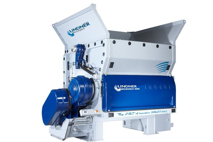 Lindner Recyclingtech America - Micromat 2000 Shredders