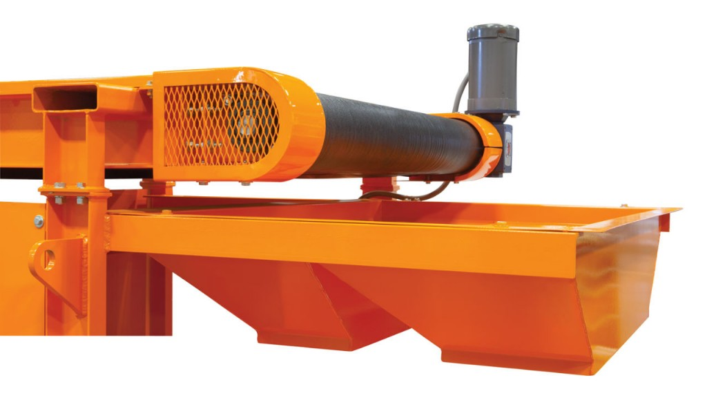 Rare Earth Roll Conveyor is design to recover and concentrate stainless steel.