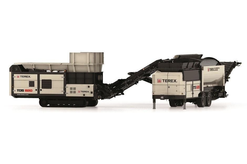 TDS 820 Shredders