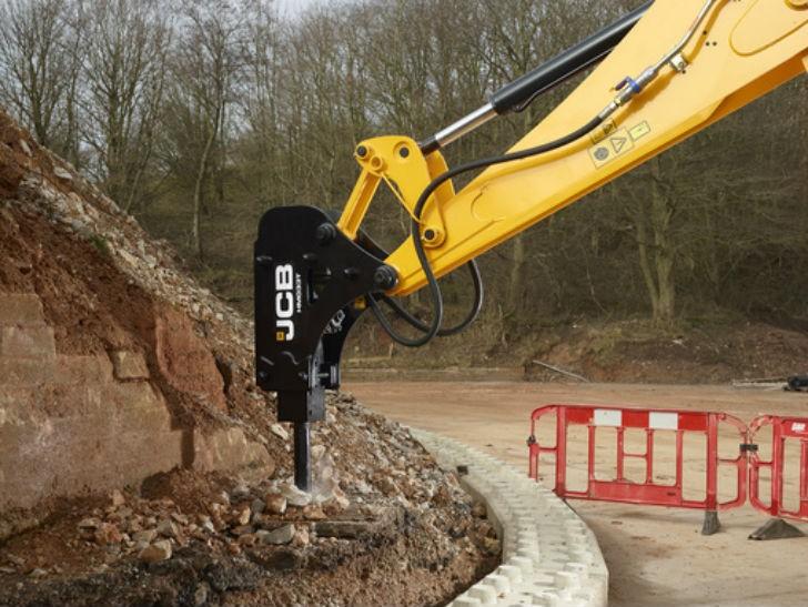Contractor range extends JCB's hydraulic breaker lineup