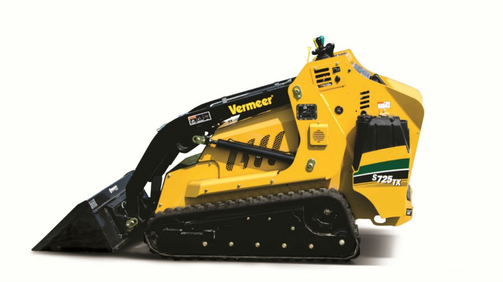 The S725TX mini skid steer is one of the most versatile machines, it can handle a wide array of jobs from irrigation systems and hardscape projects to tree care removal and fiber optic installations all without sacrificing performance.