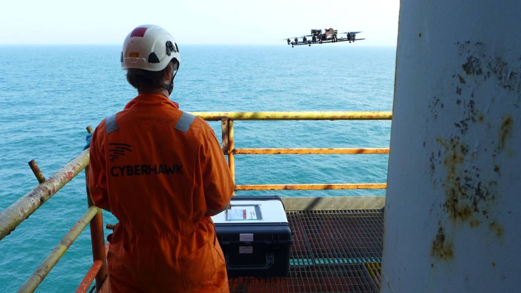 Cyberhawk has already undertaken oil and gas inspection work in North America, for operators in Canada , and has a number of projects lined up with oil and gas supermajors in the US over the coming months.
