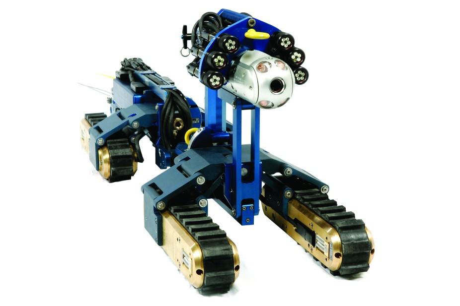 Inuktun Services Ltd. - Versatrax 300™ Inspection Crawlers