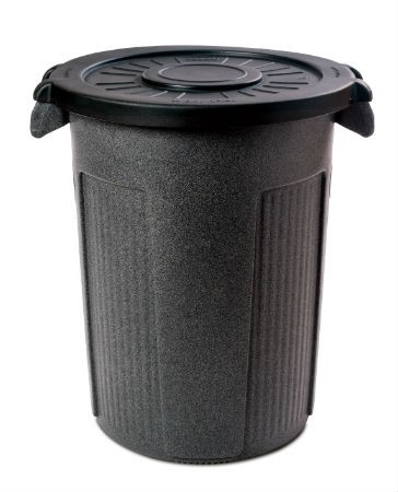 Toter 44 Gallon Atlas Stationary Round Container.