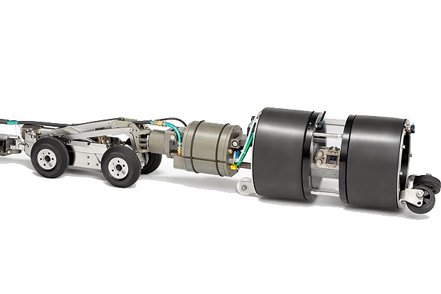 Rausch Electronics USA, LLC. - L135 Tractor Platform Inspection Crawlers