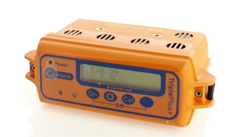 TRIPLE PLUS + IR Multi-gas monitor.