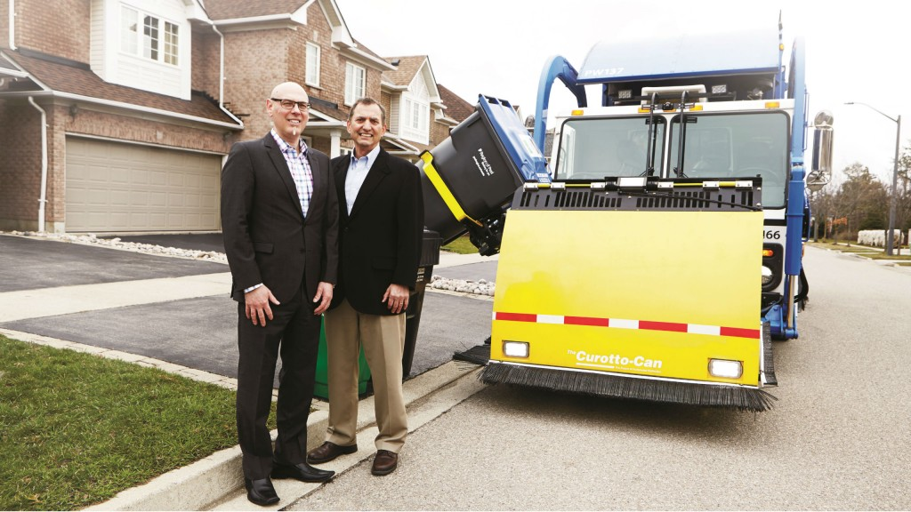 Paul Palazzo and Norm Lee led the implementation of Peel's new automated curbside collection program, now serving over 300,000 homes in the region.