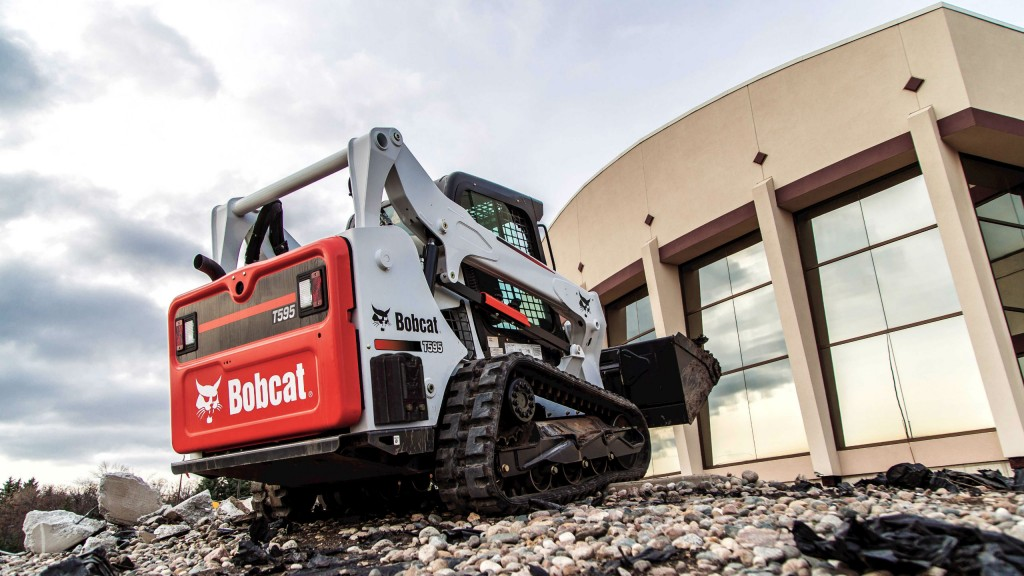 Bobcat T595 compact track loader boasts 74-horsepower in a compact