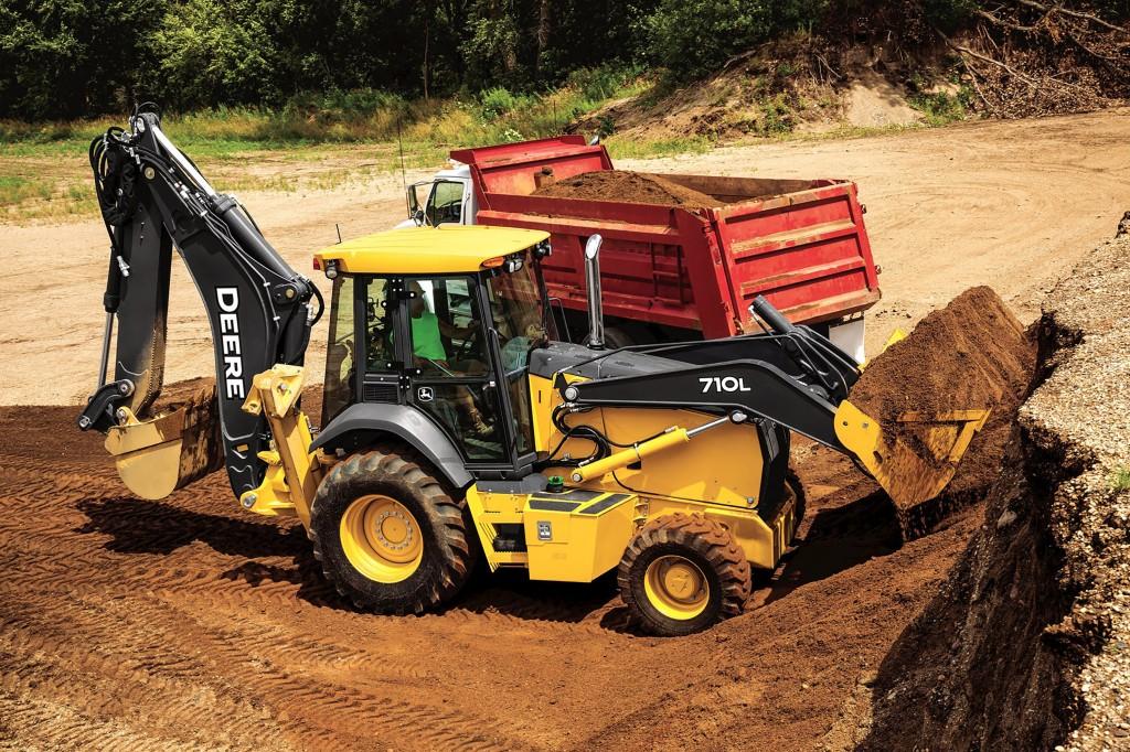 John Deere Construction & Forestry - 710L Backhoe Loaders