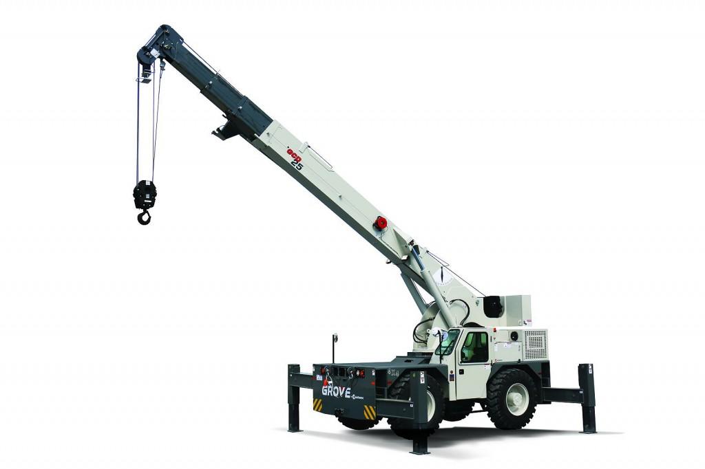 Manitowoc Company, Inc - GCD25 Carrydeck Cranes