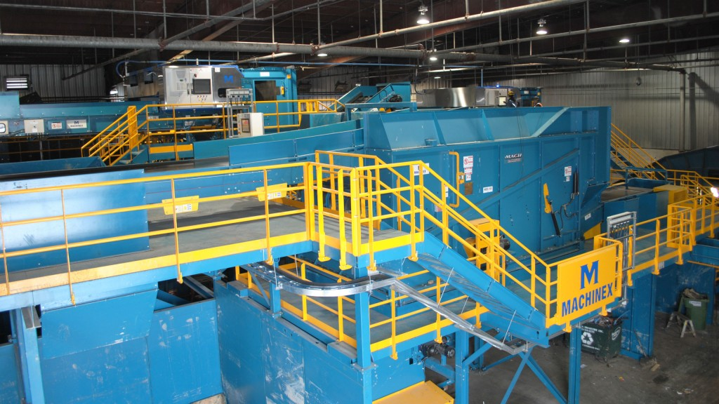 Machinex was appointed by Cascades Recovery to complete a major retrofit of their containers sorting line.