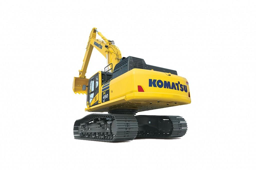 Komatsu America Corp. - PC490LC-11 Excavators