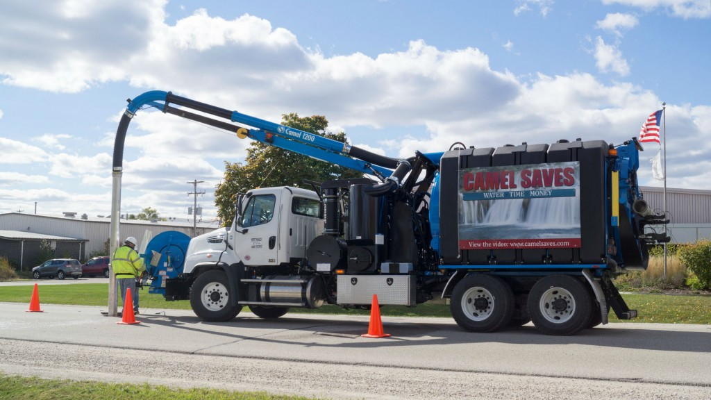 Camel 1200 sewer cleaner.