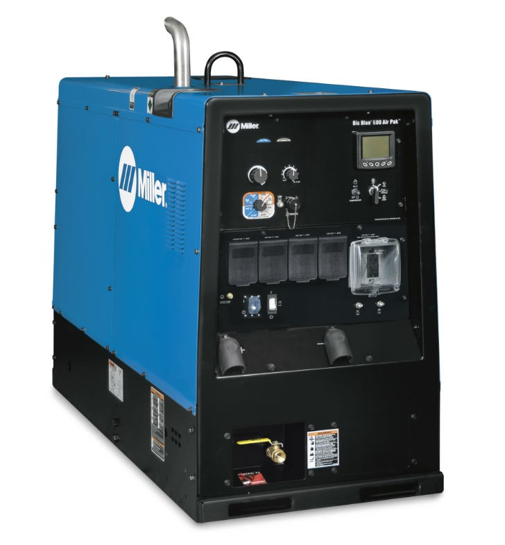 Big Blue 600 Air Pak welder/generator.