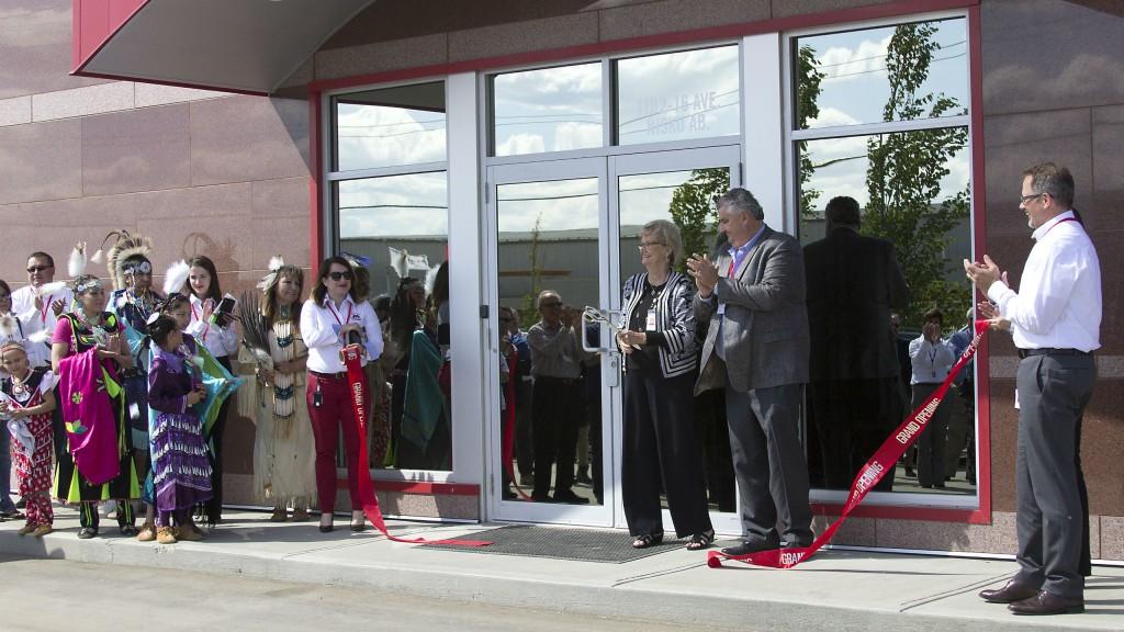 Michels Canada Nisku facility grand opening.