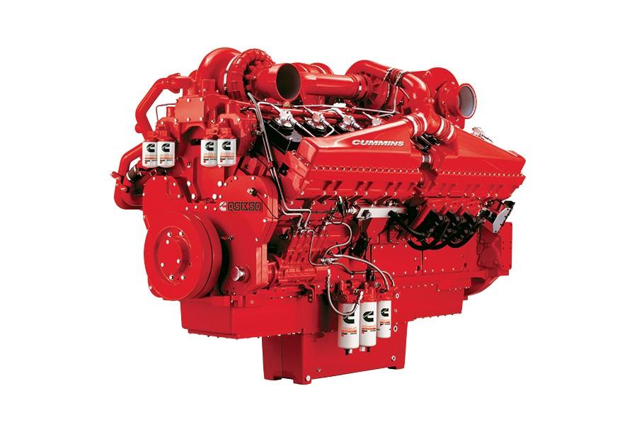 Cummins Inc. - QSK50 for drilling Diesel Engines
