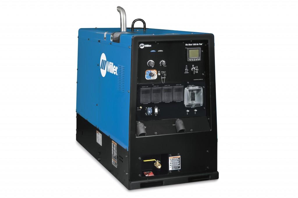 Miller Electric Mfg. LLC. - Big Blue 600 Air Pak Welding