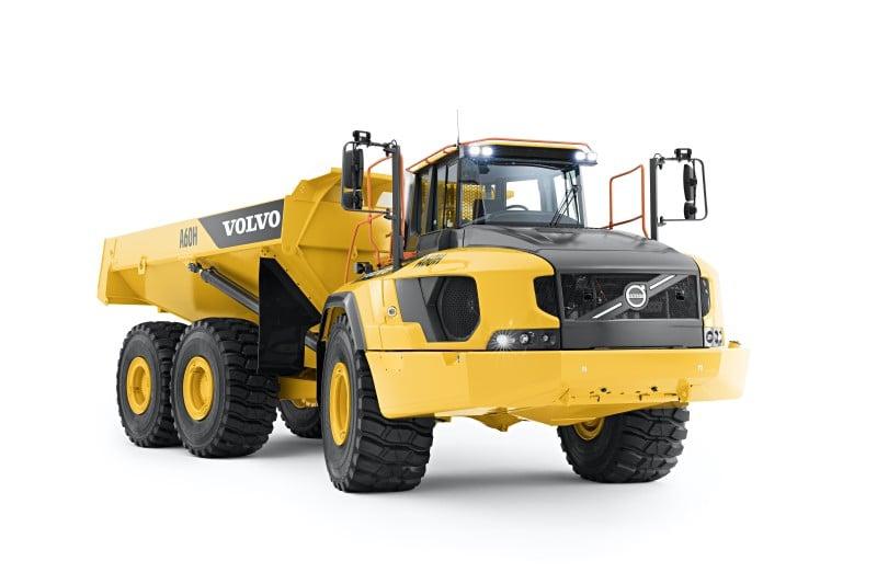 Volvo Construction Equipment - A60H Articulated Dump Trucks