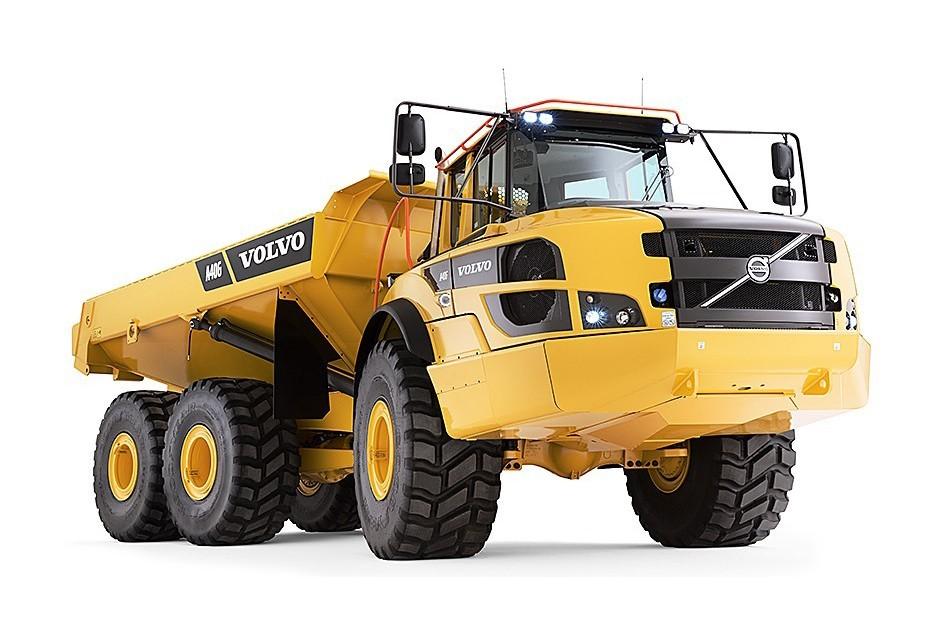 Volvo Construction Equipment - A40G Articulated Dump Trucks