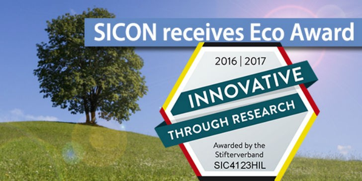 SICON receives Innovative through Research seal of approval from German institution