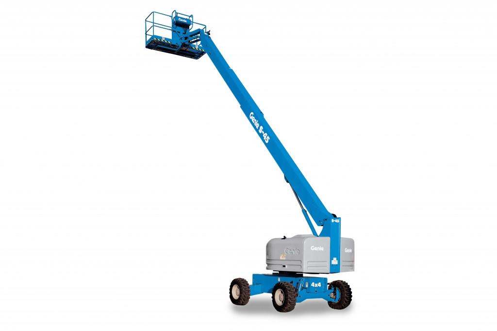 Genie - A Terex Brand - S™-40 & S™-45 Telescopic Boom Lifts