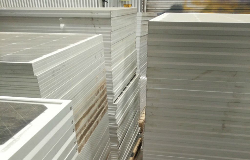 Solar panel recycler leads Australia in emerging industry
