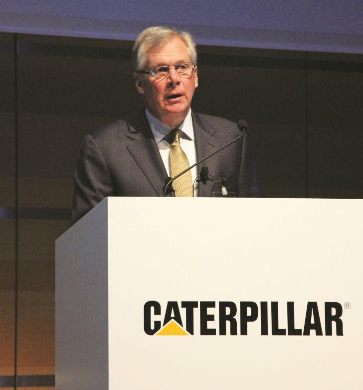 Doug Oberhelman, Chairman and CEO of Caterpillar Inc.