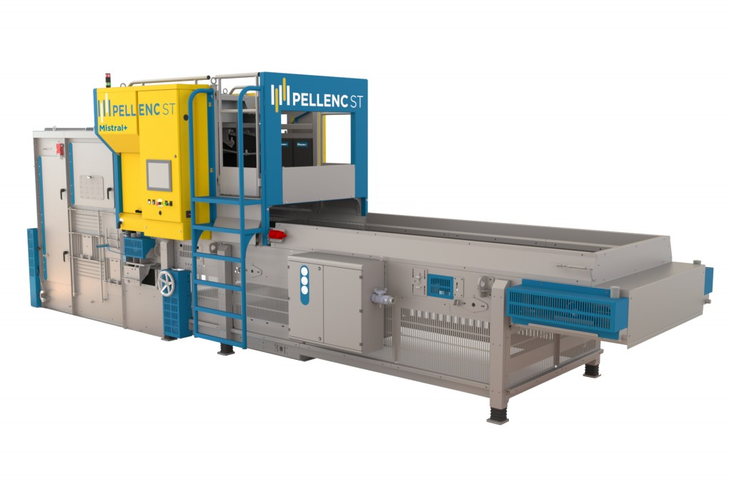 Pellenc ST America Inc. - MISTRAL+ Recycling Sorting Systems