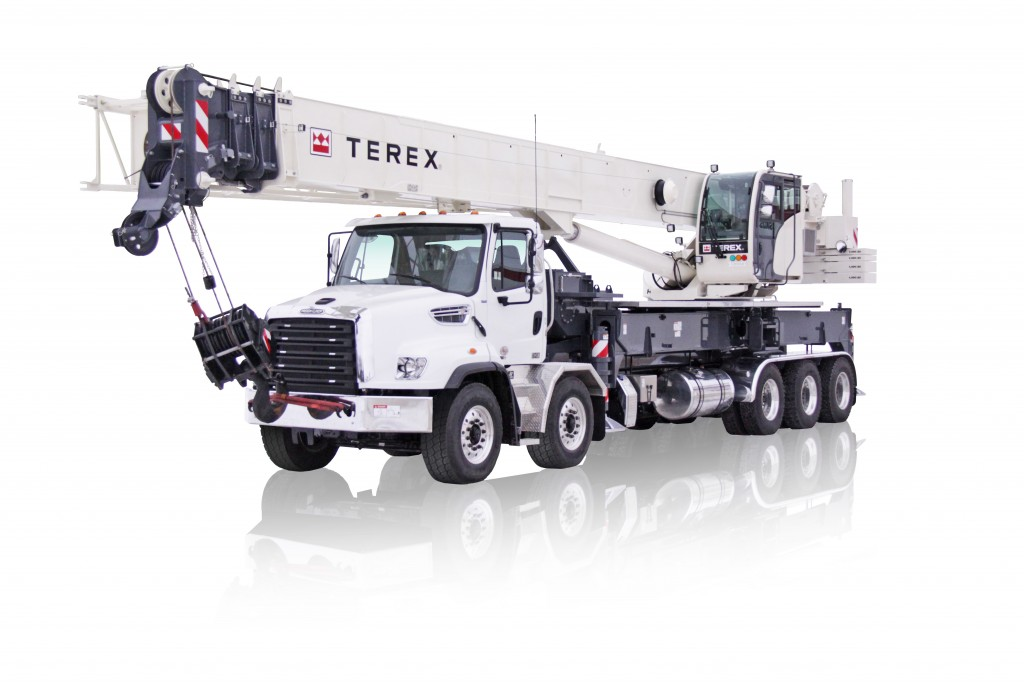 Terex Corporation - Crossover 8000 Truck Mounted Cranes
