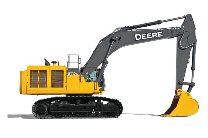 John Deere Construction & Forestry - 670G LC Excavators