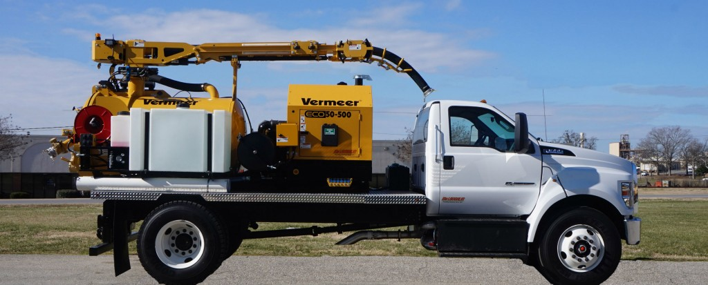 ECO Series vacuum excavators offer utility contractors fuel economy, lower operating costs and reduced maintenance.