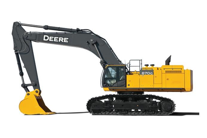 John Deere Construction & Forestry - 870G LC Excavators