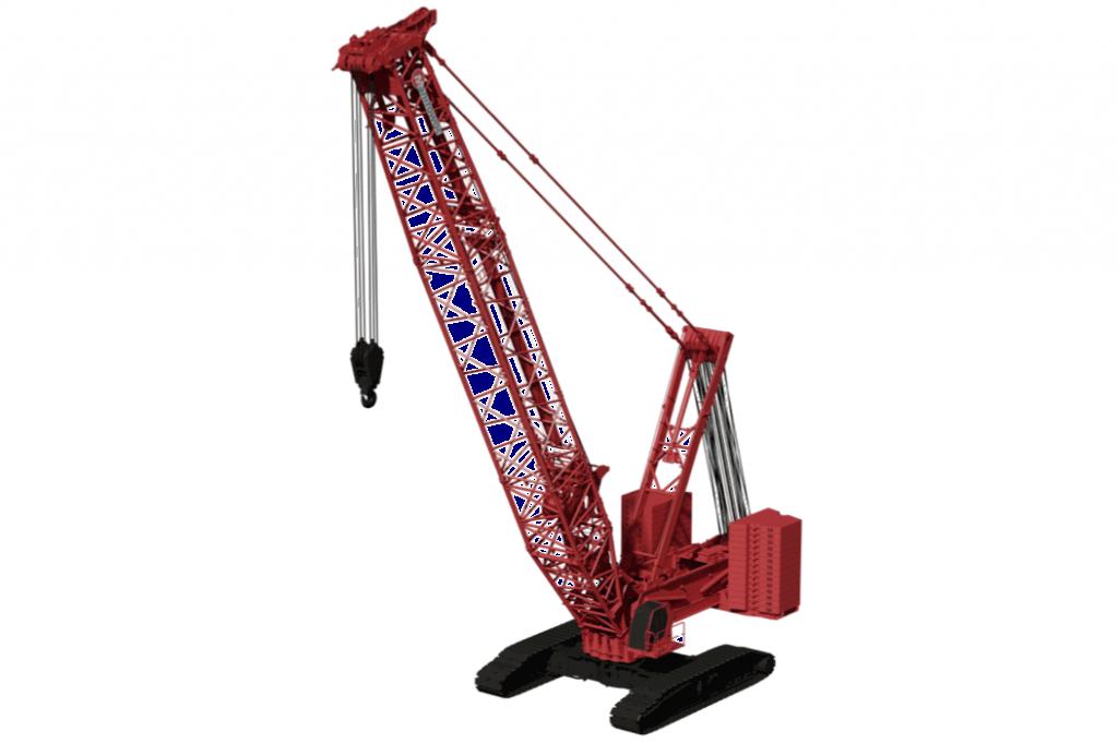Manitowoc Company, Inc - MLC650 Lattice Boom Cranes