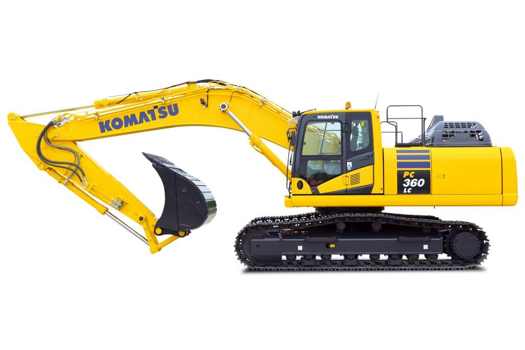 Komatsu America Corp. - PC360LC-11 Excavators