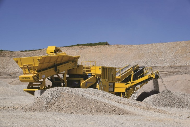 Keestrack - H4 Track Mounted Cone Crushers