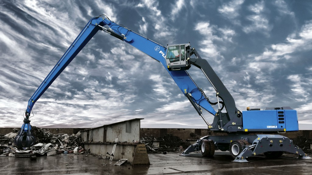 Terex implements expansion plan for Fuchs Material Handlers